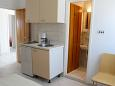 Orebić, Kitchen u smještaju tipa studio-apartment, WIFI.