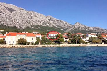 Property Orebić (Pelješac) - Accommodation 4563 - Apartments and Rooms near sea with pebble beach.