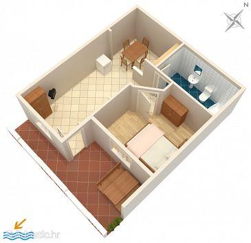 Apartment A-4565-g - Apartments Orebić (Pelješac) - 4565