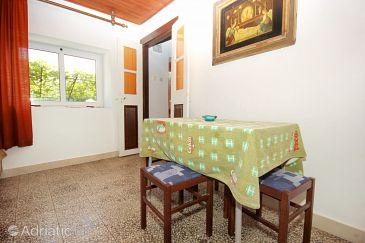 Orebić, Dining room u smještaju tipa house, dopusteni kucni ljubimci.