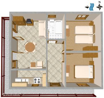 Apartment A-457-a - Apartments Okrug Gornji (Čiovo) - 457