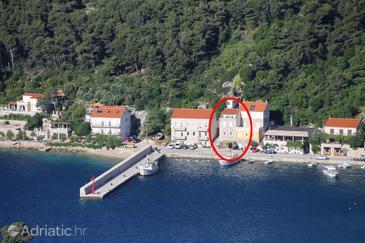 Property Trstenik (Pelješac) - Accommodation 4571 - Apartments near sea with pebble beach.