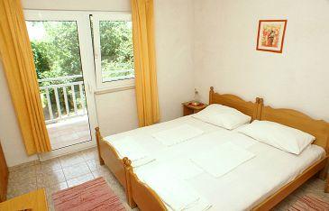 Žuljana, Sypialnia u smještaju tipa room, dopusteni kucni ljubimci i WIFI.