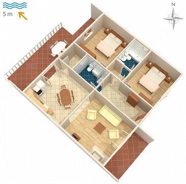 Apartament A-458-d - Apartamenty Okrug Gornji (Čiovo) - 458