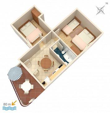 Apartment A-4584-a - Apartments Ivan Dolac (Hvar) - 4584