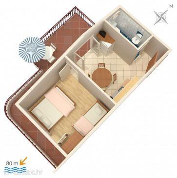 Apartment A-4584-d - Apartments Ivan Dolac (Hvar) - 4584