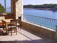 Basina, Terrace u smještaju tipa apartment, s pogledom na more i dopusteni kucni ljubimci.