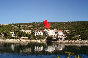 Property Jagodna (Brusje) (Hvar) - Accommodation 4606 - Apartments near sea with pebble beach.