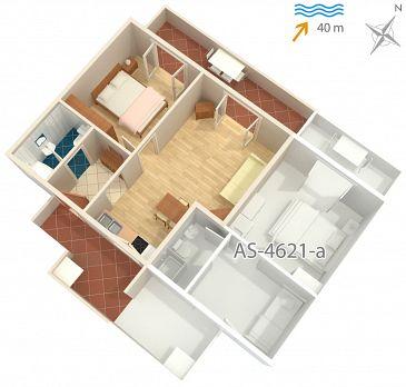 Apartament A-4621-a - Apartamenty Jelsa (Hvar) - 4621