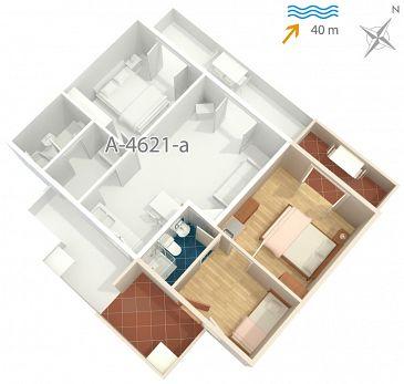 Studio flat AS-4621-a - Apartments Jelsa (Hvar) - 4621