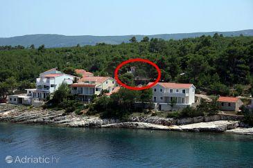 Property Basina (Hvar) - Accommodation 4622 - Apartments near sea.
