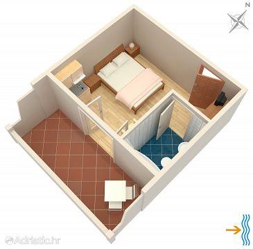 Studio AS-4628-b - Apartamenty Jelsa (Hvar) - 4628