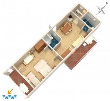 Apartment A-4632-a - Apartments and Rooms Duće (Omiš) - 4632