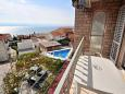 Balcony 1 - Apartment A-4632-a - Apartments and Rooms Duće (Omiš) - 4632