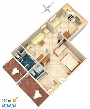 Apartament A-4632-e - Kwatery Duće (Omiš) - 4632