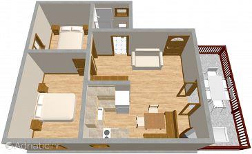Apartment A-465-b - Apartments Srima - Vodice (Vodice) - 465
