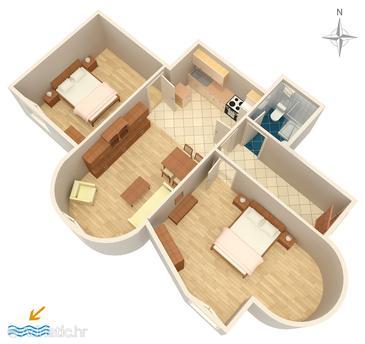 Apartment A-470-a - Apartments Pirovac (Šibenik) - 470