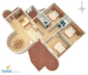 Apartment A-470-b - Apartments Pirovac (Šibenik) - 470