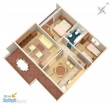 Apartment A-471-a - Apartments Grebaštica (Šibenik) - 471