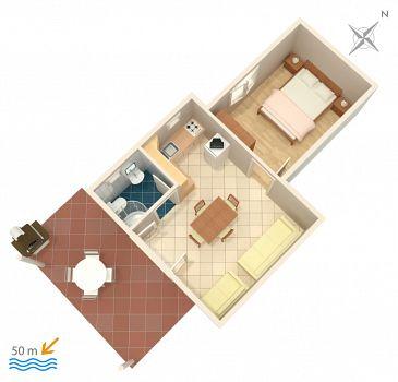Apartment A-471-d - Apartments Grebaštica (Šibenik) - 471