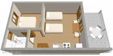 Apartment A-472-b - Apartments Solaris (Šibenik) - 472