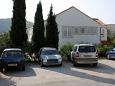 Srebreno, Dubrovnik, Parking lot 4727 - Apartments and Rooms with pebble beach.