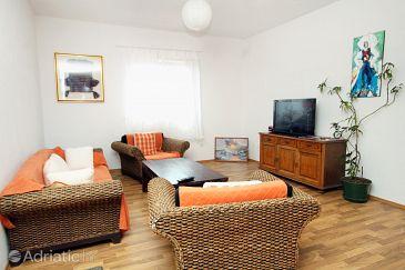 Molunat, Living room u smještaju tipa apartment, dopusteni kucni ljubimci.