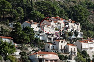 Property Dubrovnik (Dubrovnik) - Accommodation 4730 - Apartments with pebble beach.