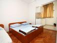 Bedroom - Studio flat AS-4734-h - Apartments Podaca (Makarska) - 4734