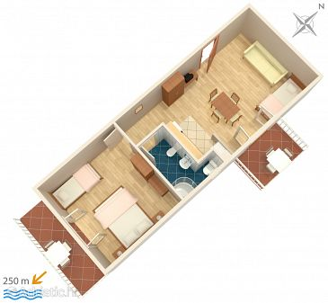 Apartment A-4767-a - Apartments and Rooms Soline (Dubrovnik) - 4767