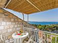 Balcony - Apartment A-4774-c - Apartments Mlini (Dubrovnik) - 4774