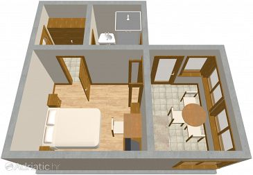 Apartment A-479-b - Apartments Brodarica (Šibenik) - 479