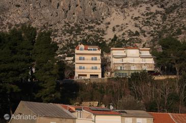Property Drašnice (Makarska) - Accommodation 4810 - Apartments near sea with pebble beach.