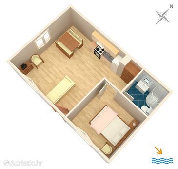 Apartment A-4824-a - Apartments Primošten (Primošten) - 4824