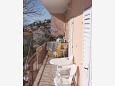 Balcony 1 - Apartment A-4829-a - Apartments Baška Voda (Makarska) - 4829