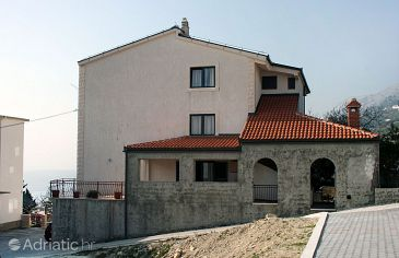 Property Sumpetar (Omiš) - Accommodation 4847 - Apartments and Rooms with pebble beach.