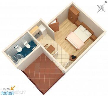 Studio flat AS-4852-a - Apartments Duće (Omiš) - 4852