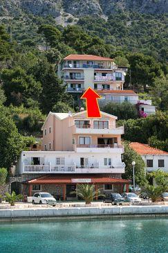 Obiekt Živogošće - Porat (Makarska) - Zakwaterowanie 4878 - Apartamenty blisko morza ze żwirową plażą.