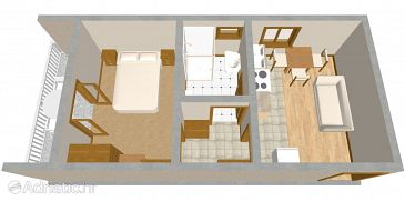 Apartment A-488-c - Apartments Pirovac (Šibenik) - 488