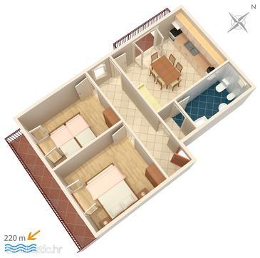 Apartment A-4882-b - Apartments Grebaštica (Šibenik) - 4882