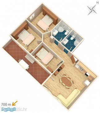 Apartment A-4891-a - Apartments Igrane (Makarska) - 4891