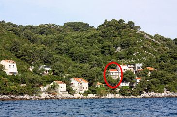 Property Sobra (Mljet) - Accommodation 4908 - Apartments near sea.