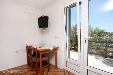 Babine Kuće, Dining room u smještaju tipa studio-apartment, dopusteni kucni ljubimci i WIFI.