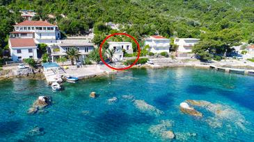 Property Okuklje (Mljet) - Accommodation 4943 - Vacation Rentals near sea with rocky beach.