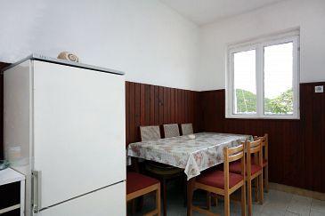 Prožurska Luka, Jadalnia w zakwaterowaniu typu house.
