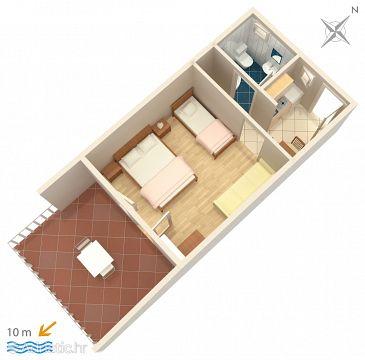 Studio flat AS-4948-b - Apartments Saplunara (Mljet) - 4948