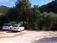 Parking lot Kozarica (Mljet) - Accommodation 4950 - Apartments near sea with rocky beach.