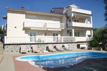 Property Barbat (Rab) - Accommodation 4951 - Apartments near sea with pebble beach.