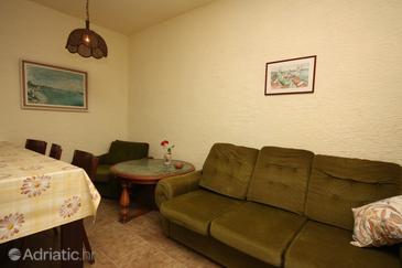Supetarska Draga - Gonar, Living room u smještaju tipa apartment, dopusteni kucni ljubimci.