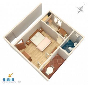 Apartment A-4976-b - Apartments and Rooms Banjol (Rab) - 4976